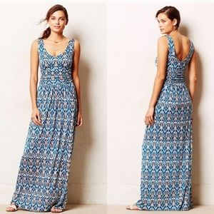 Anthropologie Tidal Maxi Dress Size S